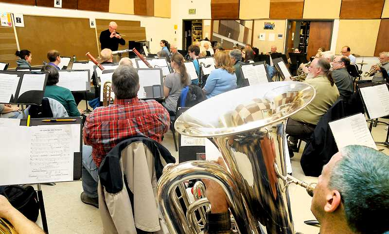 GRAPHIC FILE PHOTO - The Newberg Community Band will perform Prokofiev's 'Peter and the Wolf' March 10 at George Fox University.