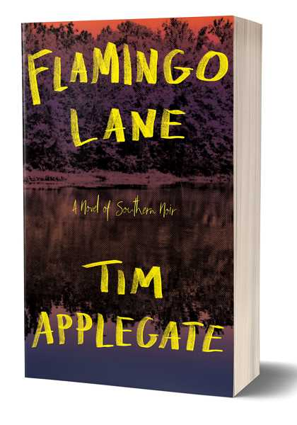 SUBMITTED PHOTO - Tim Applegate's 'Flamingo Lane' is the second in a series of books that began several years ago with 'Fever Tree.'