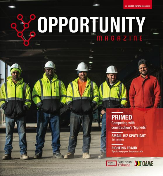 (Image is Clickable Link) Opportunity Magazine - Winter 2018 2019 - Oregon Association of Minority Entrepreneurs