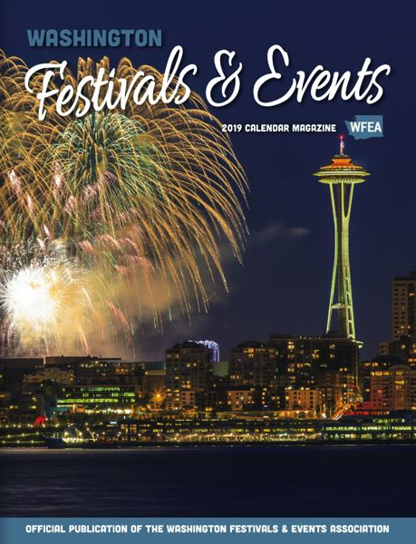 (Image is Clickable Link) 2019 Washington Festivals and Events Calendar Magazine