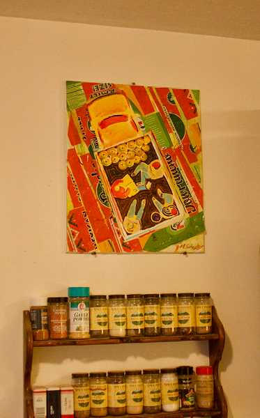 PMG  PHOTO: CHRISTOPHER KEIZUR - Mike Schuster doesnt sell his artwork, instead preferring to keep them in his Boring home.