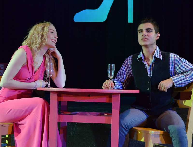 COURTESY PHOTO: LORI DALIPOSON - 'Legally Blonde: The Musical' follows Elle Woods as she trys to win back her ex by attending the same law school as him.