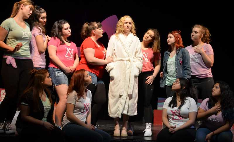 COURTESY PHOTO: LORI DALIPOSON  - Glencoe High School's winter production of 'Legally Blonde: The Musical' stars about 60 high school students.