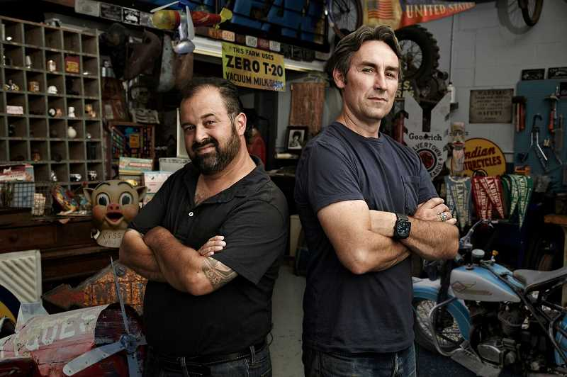 COURTESY PHOTO: HISTORY CHANNEL - 'American Pickers' is a History Channel show looking for participants in Oregon this April.