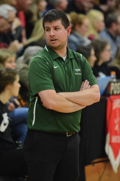 PAMPLIN MEDIA: DAVID BALL - North Marion coach Tully Wagner has his team on a six-game win streak during its run to the Tri-Valley title.