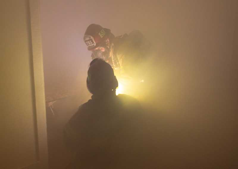 The fire district said that the trainings make them better prepared for real emergencies.