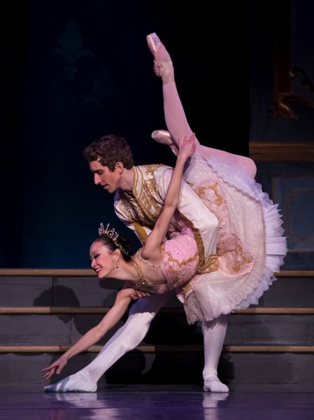 COURTESY: BLAINE TRUITT COVERT - Xuan Cheng dances the lead role in the first casting of 'Cinderella' by Oregon Ballet Theatre. She performed as Cinderella in 2015 with Brian Simcoe as the prince.