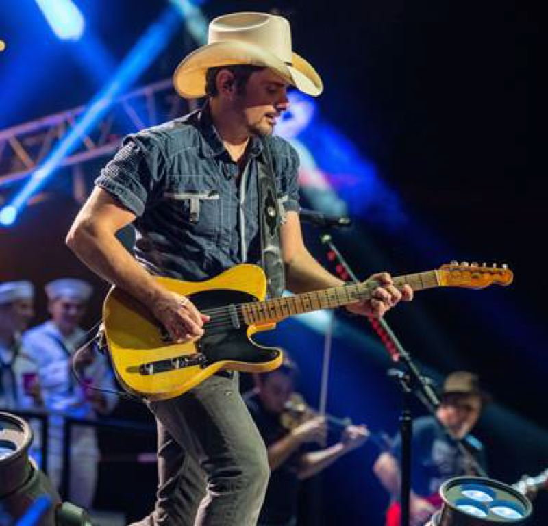 COURTESY PHOTO - The spring/summer lineups are starting to take shape at local venues. Brad Paisley plays Sunlight Supply Amphitheater in Ridgefield, Washington, June 15.