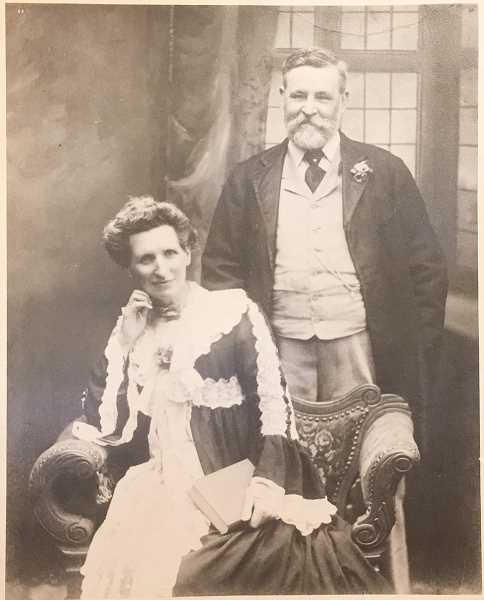 Julina Abbott's great-great-great-grandfather on her mother's side was the royal family's florist at Buckingham Palace in the 19th century.