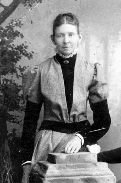PHOTO COURTESY OF BOWMAN MUSEUM - Early Crook County pioneer Louisa Douthit came to Oregon as a child.