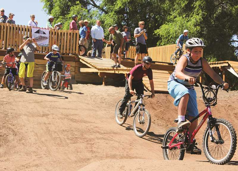 CENTRAL OREGONIAN - Parks leaders are considering the addition of a hard-surface pump track to the existing dirt bike park.