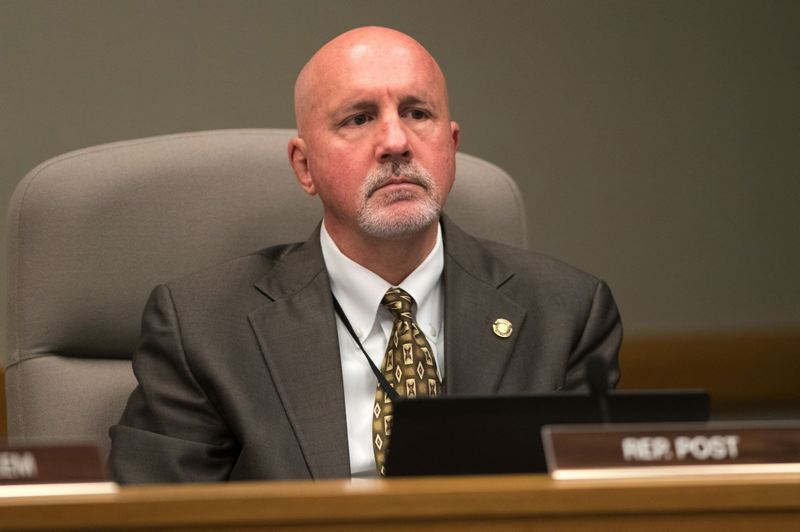 PMG FILE PHOTO - State Rep. Bill Post, a Keizer Republican, was stripped of his seat on the House Judiciary Committee Thursday, Feb. 21, because of provocative tweets.