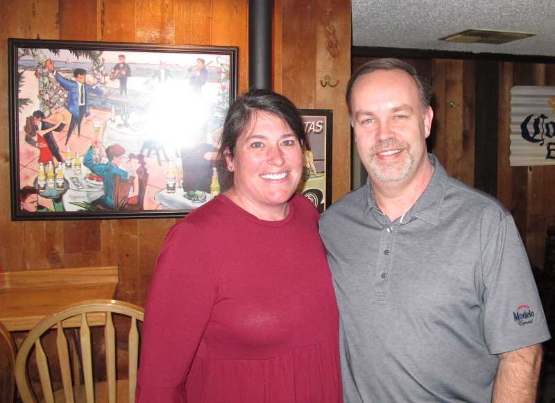 Lisa and Pat Murphy took over the Old Barn in December.  She's a school teacher in the Tigard-Tualatin District while Pat has worked for Columbia Distributing for the last quarter century.