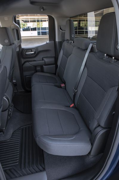 COURTESY CHEVROLET - The Double Cab provides a reasonable amount of rear seat room for up to three adults.