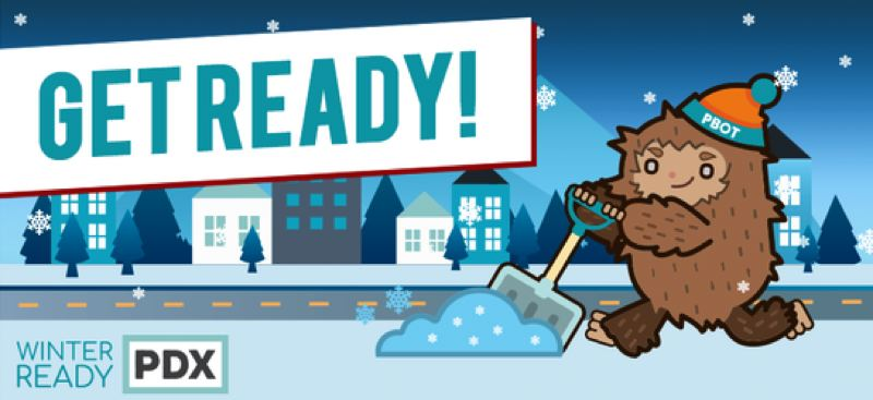COURTESY PBOT - The Portland Bureau of Transportation wants city residents to be prepared for bad weather.