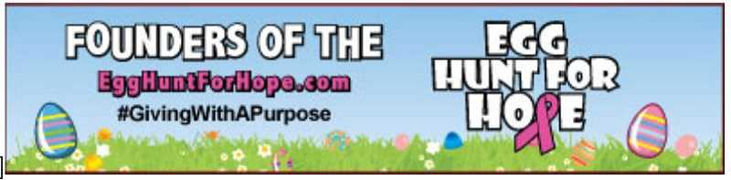 SUBMITTED PHOTO - McCabe Real Estate Groups 13th Annual Egg Hunt For Hope is set for Saturday April 20 at Sherwood High Schools track and field.