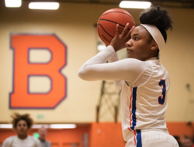 PAMPLIN MEDIA GROUP: JAIME VALDEZ - Senior Ciera Ellington has been a premier player for a Benson High girls basketball team ranked No. 3 in the state going into the Class 6A playoffs this week.