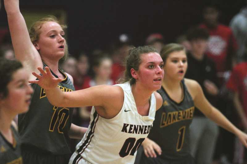 PHIL HAWKINS - Kennedy junior Sophia Carley is averaging 18 points, 9 rebounds and nearly 4 blocks a game, earning Tri-River Conference Player of the Year honors for the second season in a row.