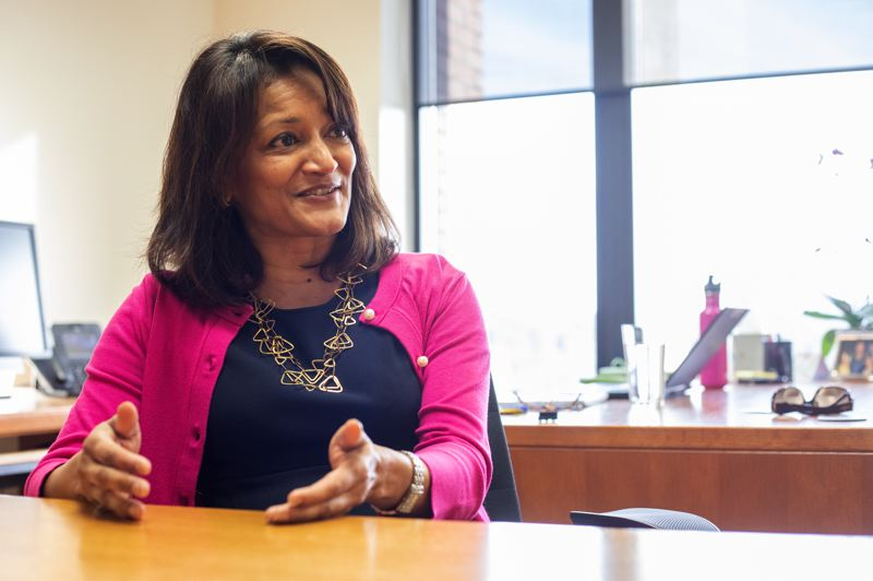 TRIBUNE PHOTO: JONATHAN HOUSE - Susheela Jayapal is the first Indian American to ever hold county office in Oregon.