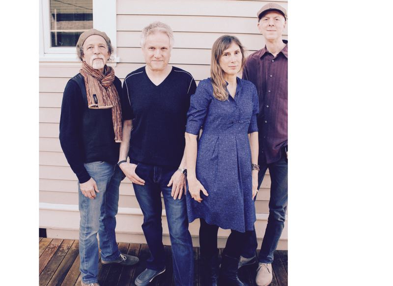CONTRIBUTED PHOTO - The JT Wise Band includes, from left, guitarists Jim Stein and JT Wise, bass guitarist Margaret Wise, and drummer Ken Woodside. All members share vocals.