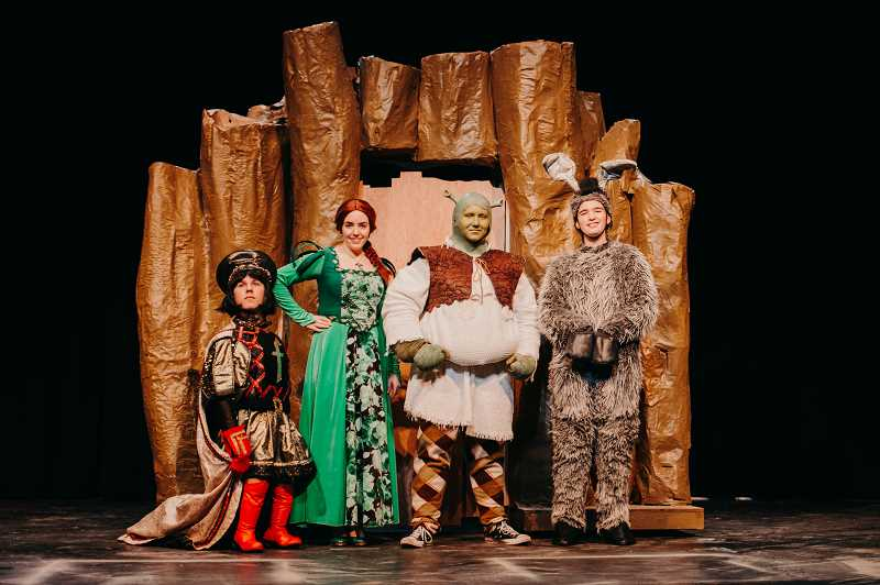 COURTESY PHOTO: VALLEY CATHOLIC SCHOOL - Valley Catholic School presents its winter musical, 'Shrek: The Musical,' opening March 1 in Beaverton.
