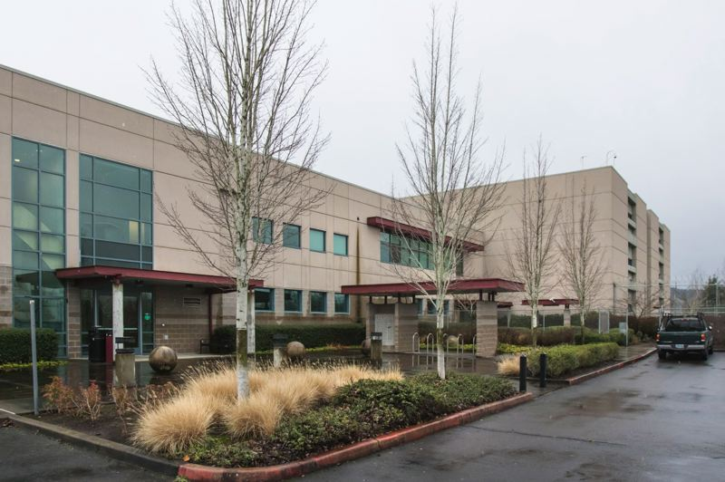 TRIBUNE FILE PHOTO - Wapato was built as a jail in an isolated industrial area in North Portland, but never opened. Jordan Schnitzer acquired it last year, and hopes to find a nonprofit to use it. If not, he expects to level the building and erect a warehouse.