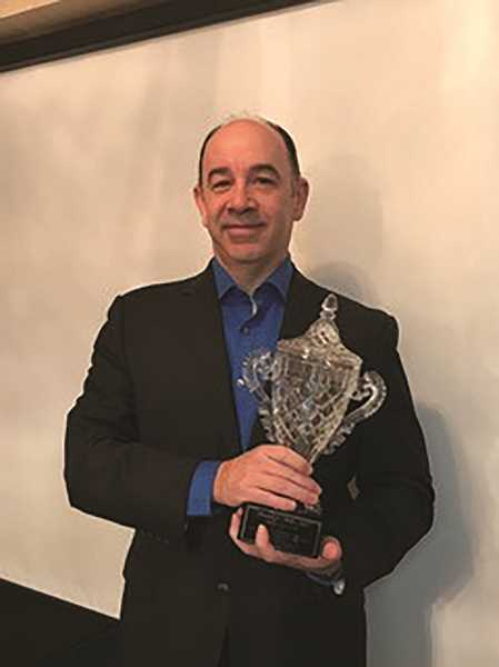 COURTESY PHOTO - Woodburn chiropractor Daniel Miller has worked at the Northwood Health Center for nearly 25 years and was named Chiropractor of the Year for the second time in his career.