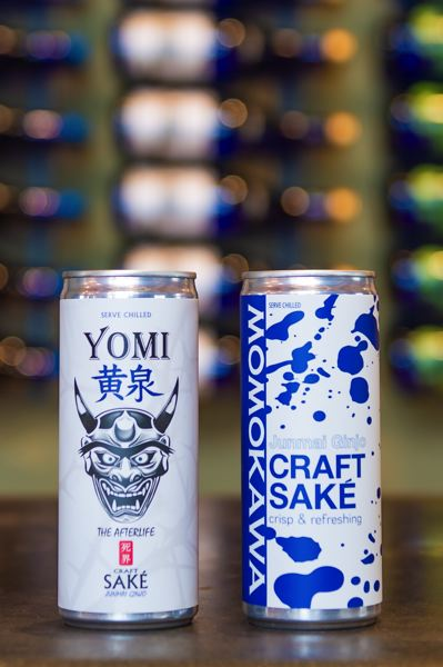 STAFF PHOTO: CHRISTOPHER OERTELL - SakeOne is rolling out two canned sake products that should hit shelves in Oregon, Washington and California within weeks, if not sooner.
