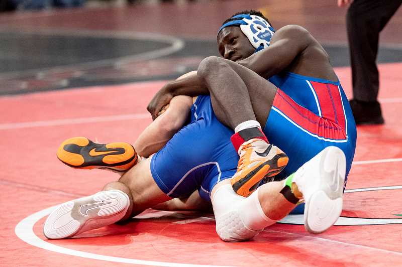 LON AUSTIN - Elijah McCourtney went 2-2 at the state tournament and will return for his sophomore season next year.