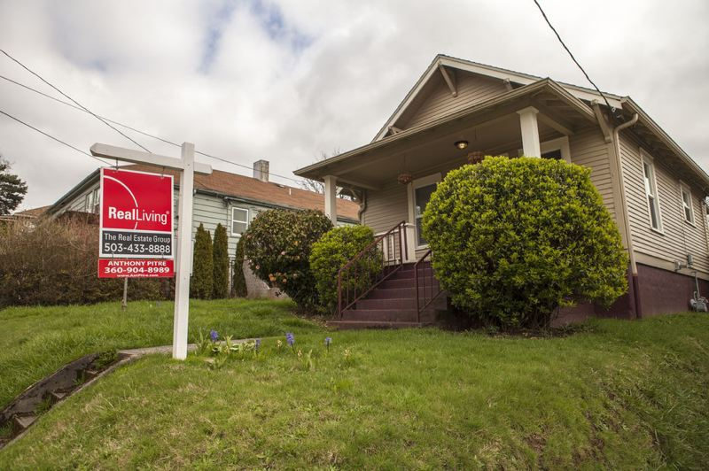 COURTESY OPB - A home for sale in the Sabin neighborhood.