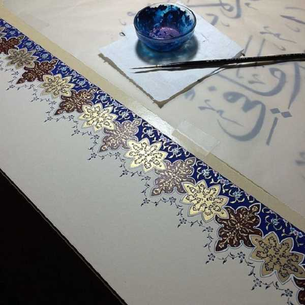 SUBMITTED PHOTO  - Lake Oswego artist and resident Marjan Anvari will lead the Drink and Draw class March 14, focusing on illuminated calligraphy. Sign up now.