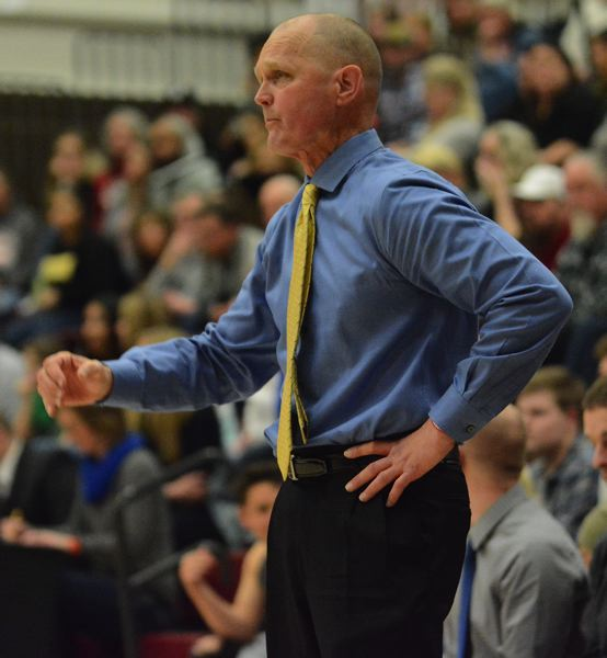 PMG PHOTO: DAVID BALL - Barlow head coach Tom Johnson has his team playoff ready in the face of weather postponements.