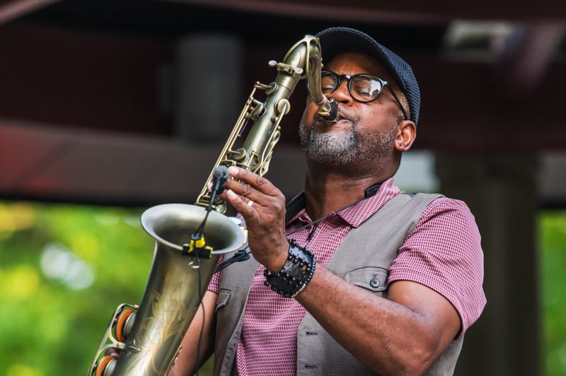COURTESY PHOTO - Portland saxophonist Eldon 'T' Jones grew up listening to Grover Washington Jr., and albums such as 'Mister Magic' and 'Winelight.'