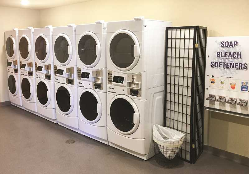 PHOTO COURTESY OF CROOK COUNTY PARKS AND RECREATION DISTRICT  - Another recent upgrade is the addition of a laundry facility. More upgrade work is planned, thanks to a new grant.
