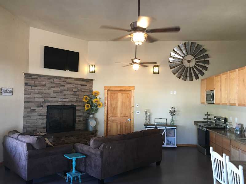 PHOTO COURTESY OF CROOK COUNTY PARKS AND RECREATION DISTRICT  - Upgrades completed at the RV park during the past five years included the addition of a clubhouse area for customers to gather and relax.