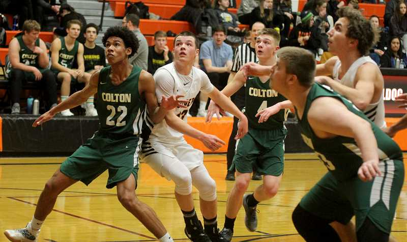 STEELE HAUGEN - Cord Gomes averaged 9 points and 5.8 rebounds to earn honorable mention all-league honors.