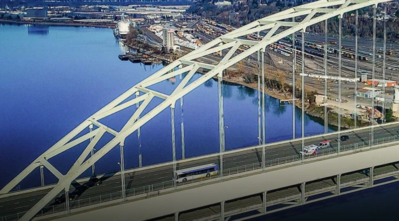 COURTESY TRIMET - TriMet is starting the first-ever bus line over the Fremont Bridge.