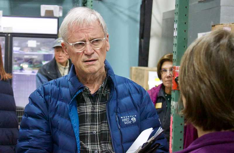 PMG PHOTO: CHRISTOPHER KEIZUR - Earl Blumenauer is promoting a bill that would protect pollinators from toxic insecticides.