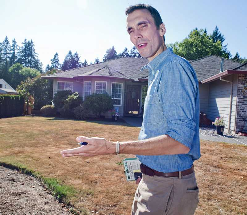 PMG FILE PHOTO - Ben Unger campaigning in 2012. The former state legislator has been tapped to help Washington Gov. Jay Inslee with his presidential run.