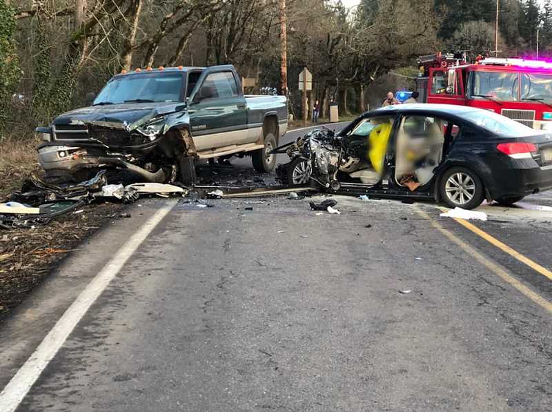 MFD - The crash took one life on Highway 211 near Country Christian School on Friday, March 1.