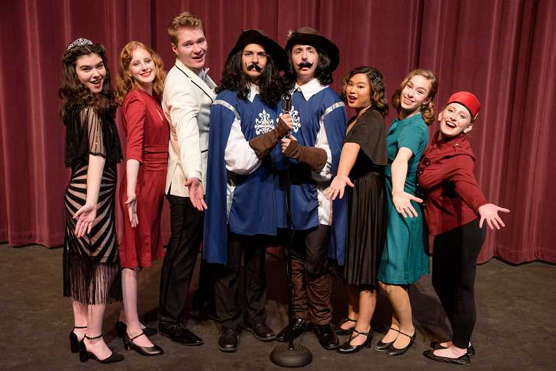 COURTESY OF DANI AMMEL - Tualatin High School Theatre presents Lend Me a Tenor, set for this Thursday through Saturday in the Tualatin High School auditorium.