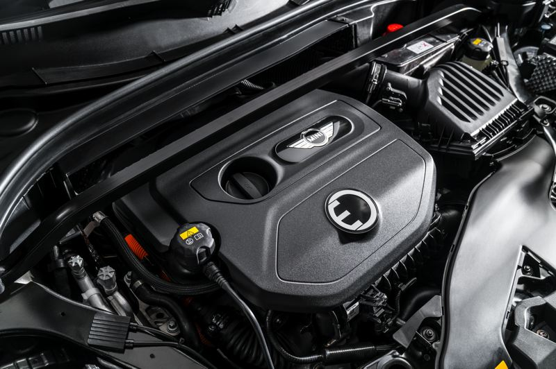 BMW OF NORTH AMERICA - The 2019 Mini Cooper Countryman PHEV is powered by a 1.5-liter three cylinder engine and electric motor generating a combined 221 horsepower, which makes it a lot of fun to drive.