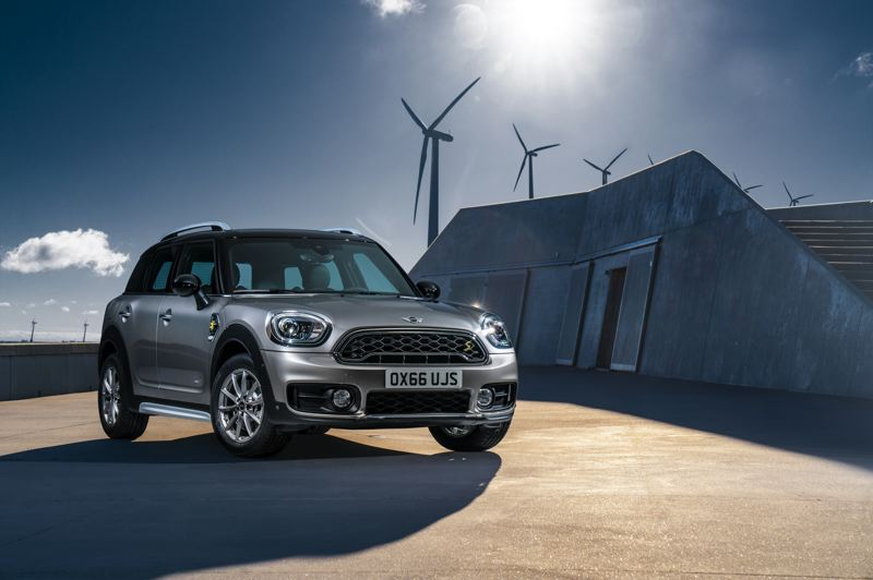 BMW OF NORTH AMERICA - The 2019 Mini Cooper Countryman PHEV is a stylish vehicle  whose looks and performance can be enhanced Sport Edition and JCW Appearance packages.