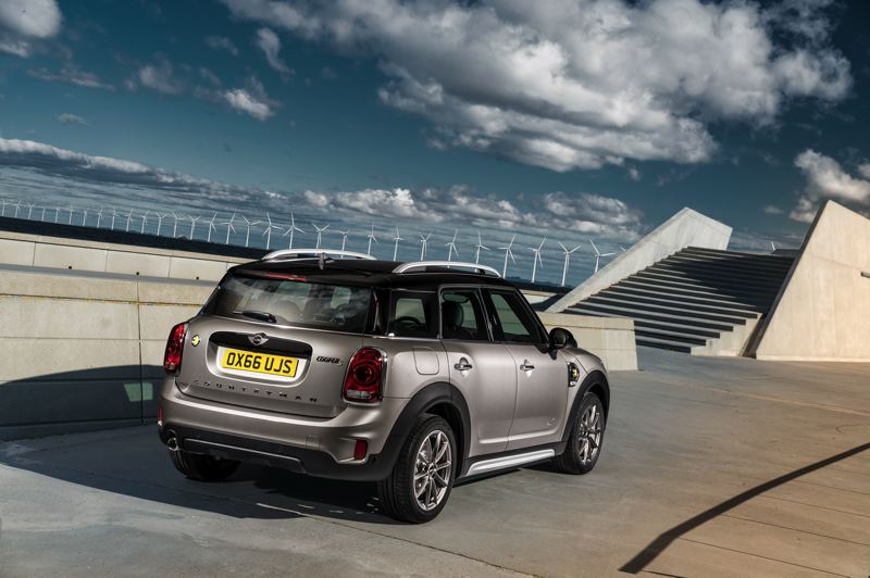 BMW OF NORTH AMERICA - The Countryman is the 'big Mini,' meaning it has the most interior room.