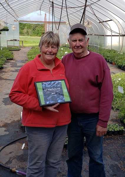 Vicki and Charlie Hertel, fourth-generation family farmers, were recognized in 2017 by the Oregon Food Bank for providing enough produce to serve 8,571 meals to hungry people.
