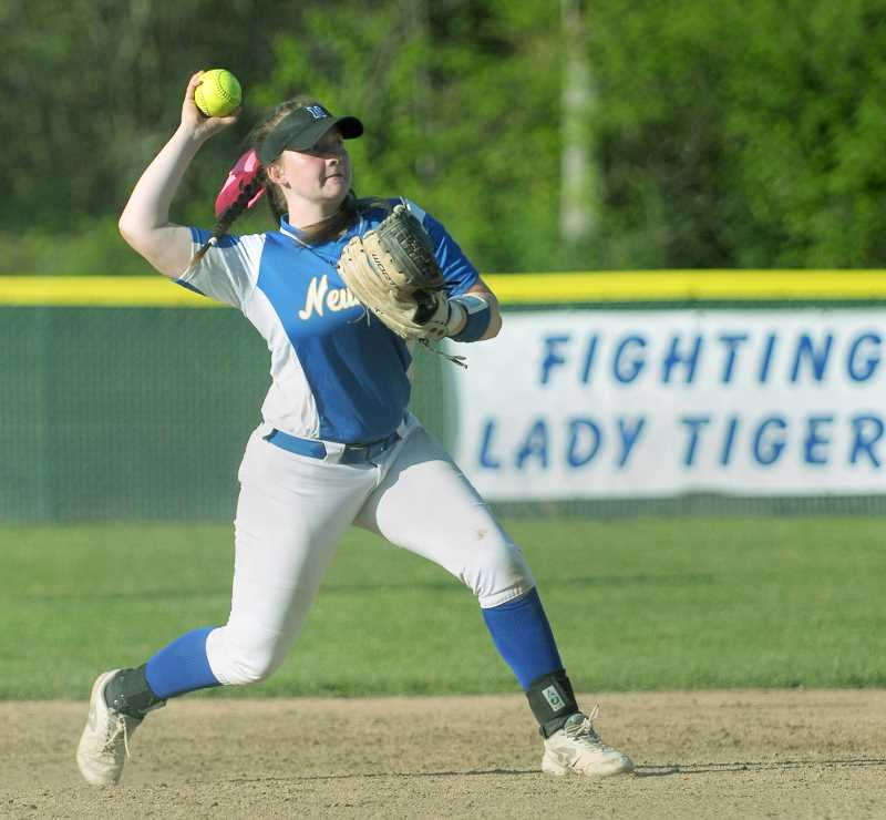 GRAPHIC FILE PHOTO - Newberg High softball is just as young as its counterparts in baseball, but with a more defined set of senior leaders and optimism that its offense could prove dangerous.