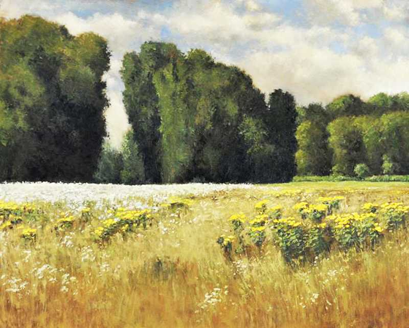 SUBMITTED PHOTO - Art Elements Gallery on First Street in Newberg is featuring the impressionist paintings of Portland artist Don Bishop through March 16.