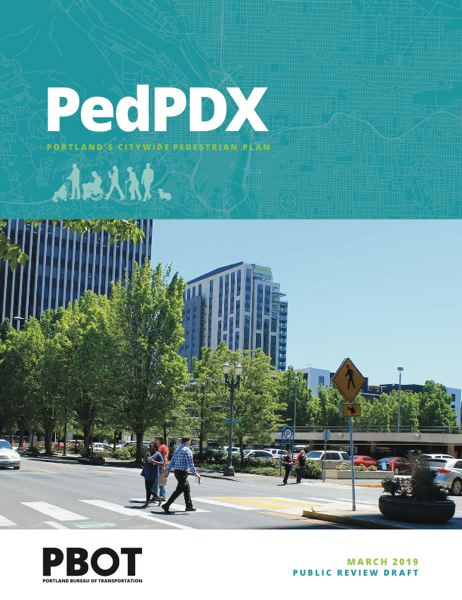 COURTESY PBOT - The PedPDX proposal is now online.