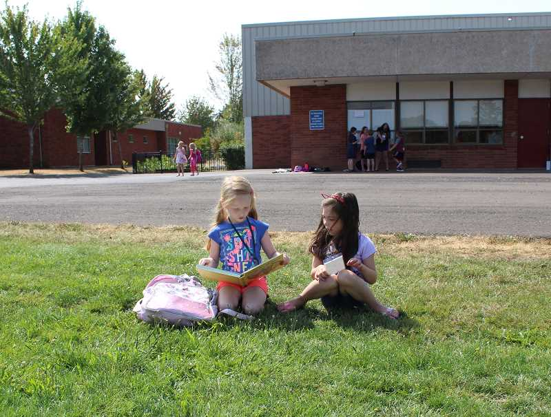 COURTESY PHOTO: ESTACADA SCHOOL DISTRICT - The Estacada School District will launch a pre-kindergarten program this fall to ensure that all young students are prepared for school.