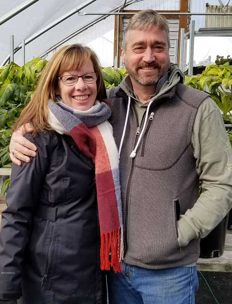SUBMITTED PHOTO - Patty and Kordell Blair, owners of Kordells Garden Center on Rosemont Road, will be the guest speakers at the Lake Oswego Womens Coalition meeting March 20. Make a reservation now to attend.